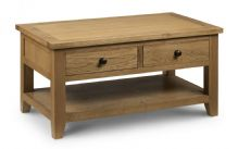 Devon Oak 2 drawer coffee table